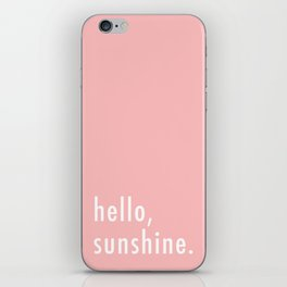 Hello Sunshine iPhone Skin