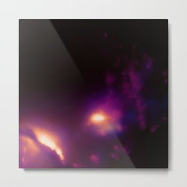 Supermassive Black Hole Jet Metal Print