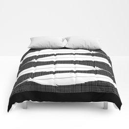 white bird feathers Comforters
