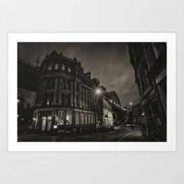 Newcastle Sandhill Atmosphere Art Print