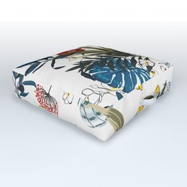 Tropical pattern Outdoor Floor Cushion
