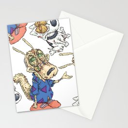 Zombie Life Stationery Cards
