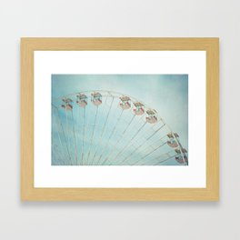 The Giant Wheel Framed Art Print