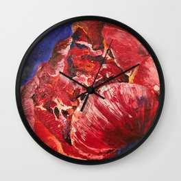 Mom's favorite bloom. Wall Clock
