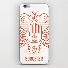 Sorcerer Emblem iPhone Skin