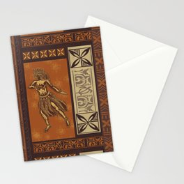 Hula Dance Like No One Is Watching Stationery Cards