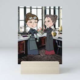 Woman in Science: The Curies Mini Art Print