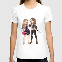 teen wolf T-shirts featuring Teen Wolf Ladies by Laia™