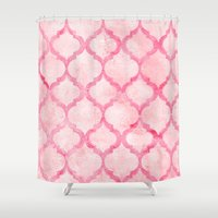 morocco Shower Curtains featuring Morocco by Tayler Willcox