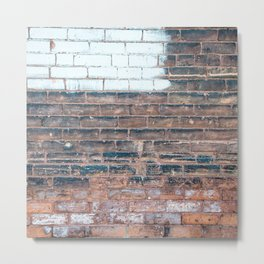 Painted Bricks Metal Print