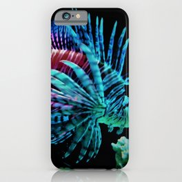 Rainbow Lionfish iPhone Case