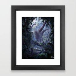 Let's take a photo Framed Art Print