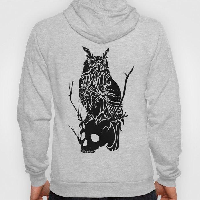 Owl and Skull Hoody