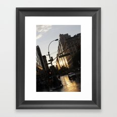 New York City Union Square NYC Framed Art Print