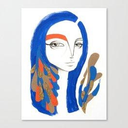 Sou Céu Canvas Print