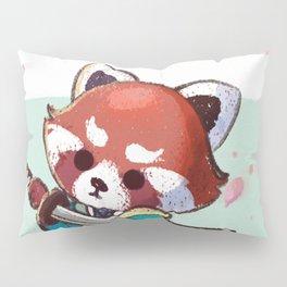 Red Panda Samurai Pillow Sham