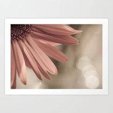 pink. Art Print