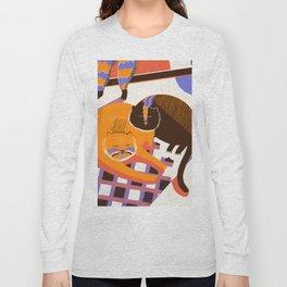 Cat Nap Long Sleeve T-shirt
