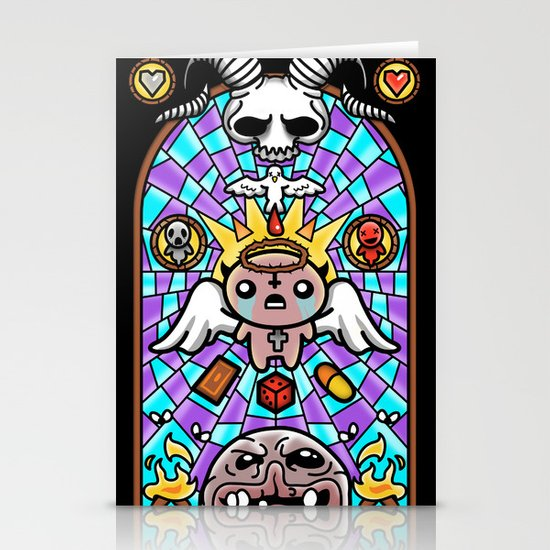 The Binding - Vitral Stationery Cards
