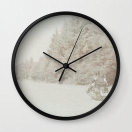 Road Warrior (Biker) Wall Clock