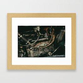 Cadillac Lasalle Flathead Engine Framed Art Print