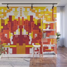 Abstract Sun Day Wall Mural