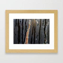 Metal Rain III Framed Art Print