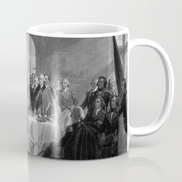 Washington Meeting His Generals Coffee Mug
