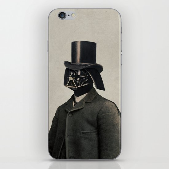 Lord Vadersworth  - square format iPhone & iPod Skin