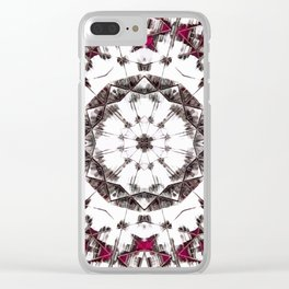 Seeking Expansion V02 Clear iPhone Case