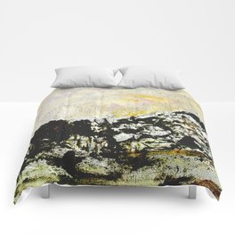 Golden mountains Comforters