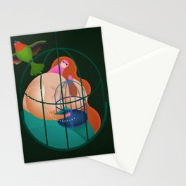 FREEDOM IN QUARANTINE TIMES Stationery Cards