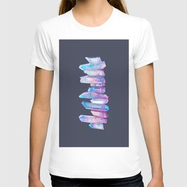 Ultraviolet Aura Crystals T-shirt