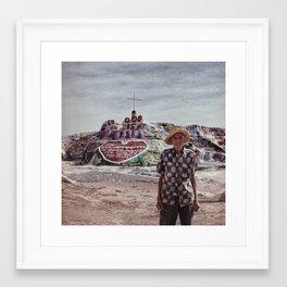 Leonard Knight Framed Art Print