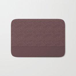 Warm , chocolate brown solid pattern . Chocolate . Bath Mat