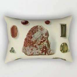 Garnet Minerals Rectangular Pillow