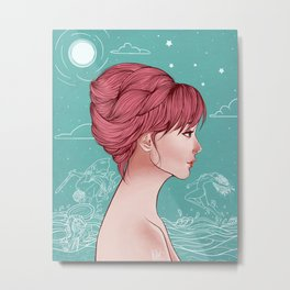 Cassiopeia's Punishment Metal Print