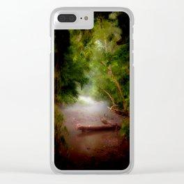 Mystic Creek Clear iPhone Case