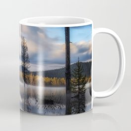 It Does Exist a beautiful dreamy photograph of Dry Lake Coffee Mug
