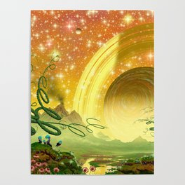 Majestic Night Poster