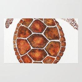 Turtle,Shell, Tortoise, Sealife, Lover, Animal Love, Brown Turtle, Wildlife, Turtle Lover, Turtles Rug