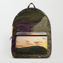 Sunset at Skye Island Backpack