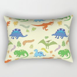 Dinosaur Pattern Rectangular Pillow