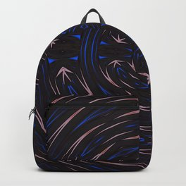Which Way Is Up Abstract Pattern Backpack