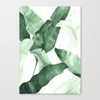 calm Canvas Prints featuring Beverly II by THE AESTATE