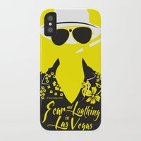 fear and loathing iPhone & iPod Cases featuring Fear and Loathing in Las Vegas by Jordi Hayman