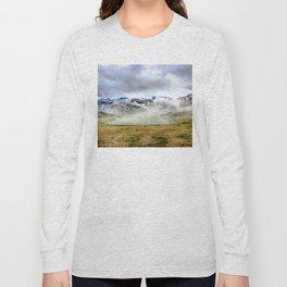 Lago Ercina in National park Picos de Europa Long Sleeve T-shirt