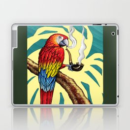Smokin parrot .... where is my pipe ??? Laptop & iPad Skin
