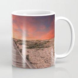 Sunset at Dungeness Coffee Mug