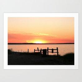 Long Island Sunset Art Print